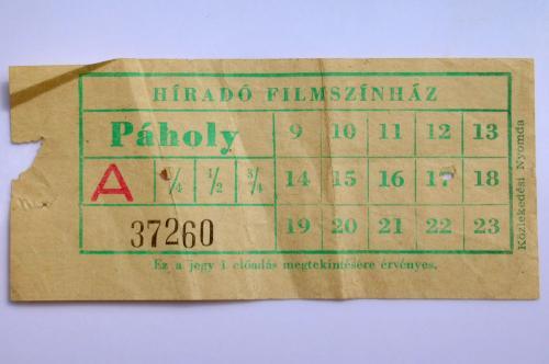 Mozijegy Hiradó Filmszínház