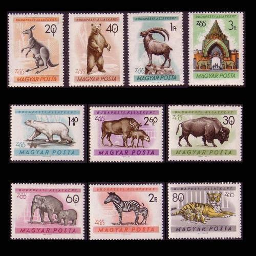 Állatkert bélyegsor