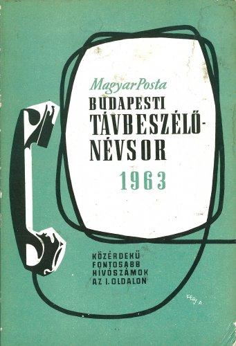 Budapesti telefonkönyv