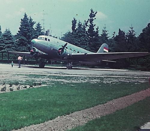 LI-2 repülőgép Szombathely Gayer park