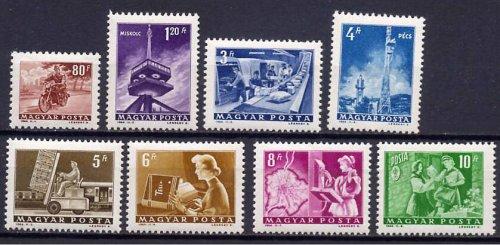 Közlekedés bélyegsor
