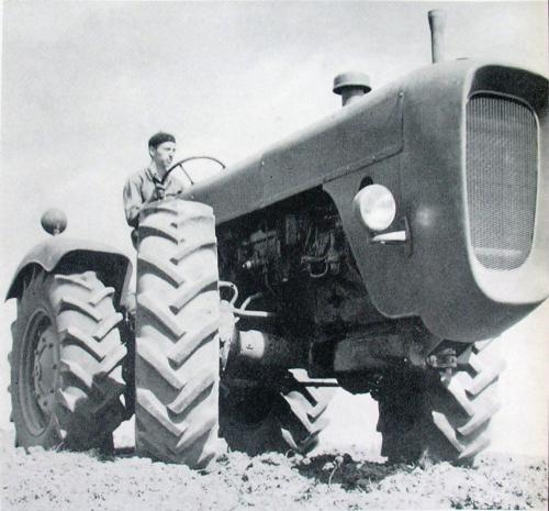 Dutra traktor