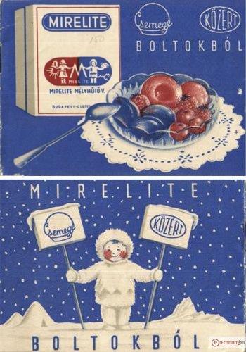 Mirelite reklámfüzet