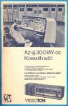 Új 300 kW-os Kossuth adó