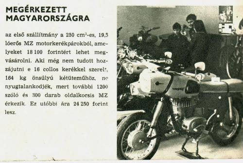 MZ motorkerékpár