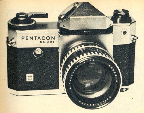 Pentacon Super fényképezőgép