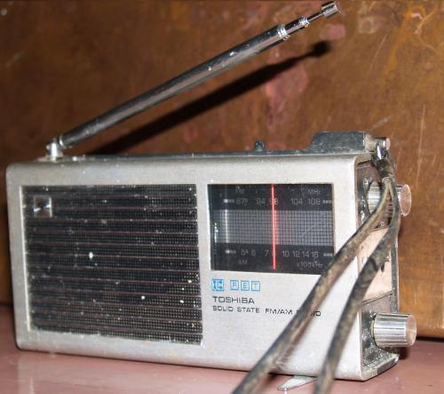 Toshiba IC70 zsebrádió