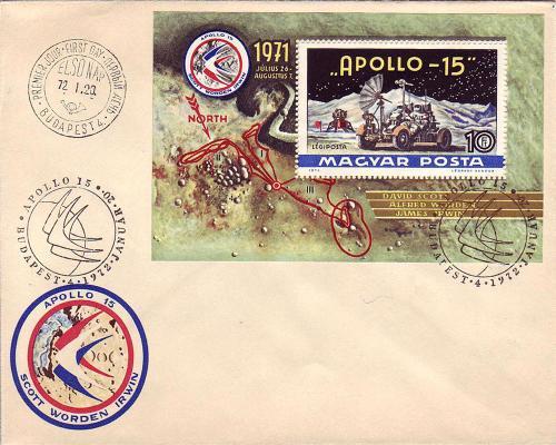 Apollo-15 boriték blokk