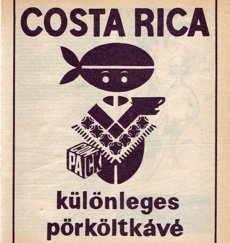 Compack Costa Rica kávé