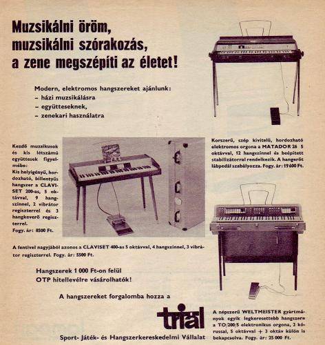 Triál elektromos hangszerek