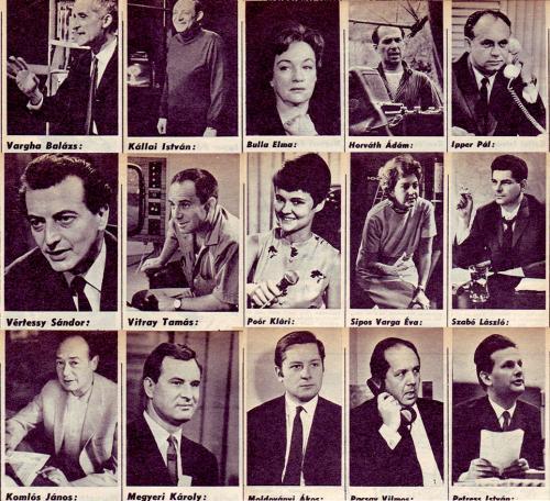 Televízió műsorvezetők