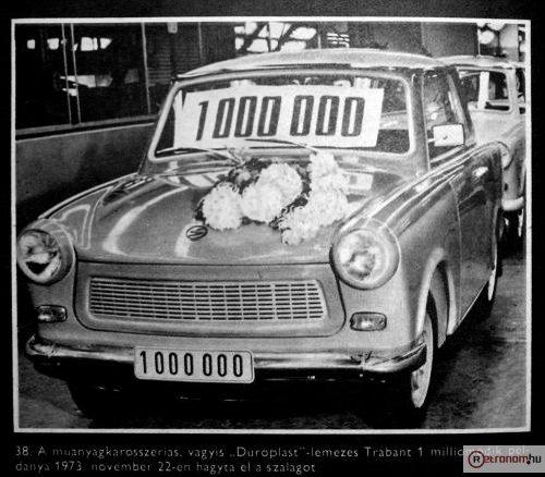 Trabant - 1 milliomodik
