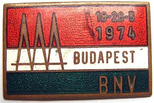 BNV jelvény  BUDAPEST