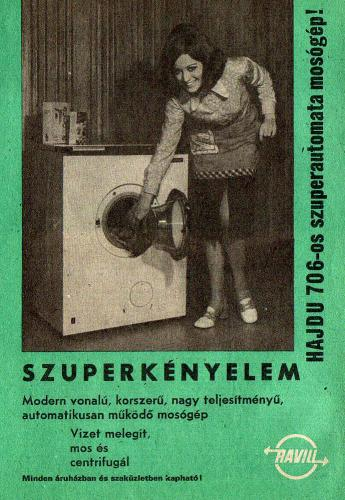 Hajdu 706 mosógép