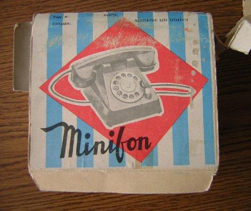 Minifon játéktelefon