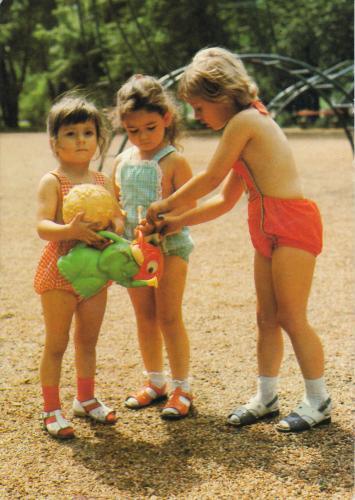 Gyerekek játszótér