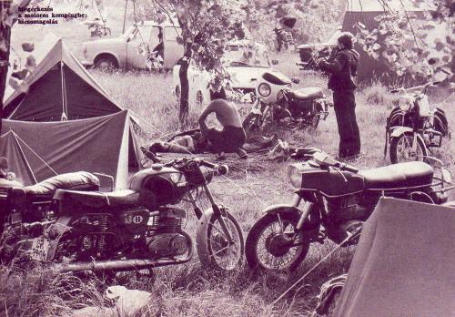 Motoros camping