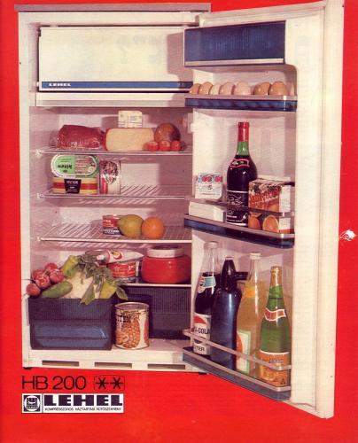 Lehel hűtőszekrény HB 200