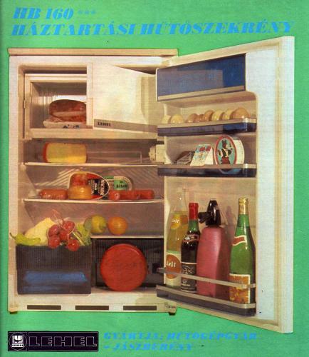 Lehel hűtőszekrény HB 160