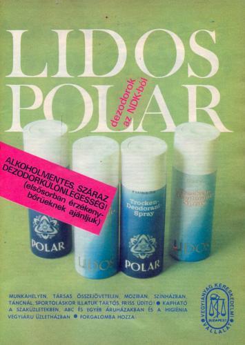 Lidos Polar dezodorok