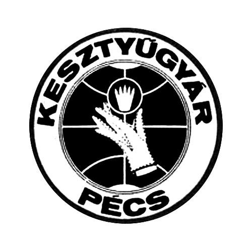Pécsi kesztyű embléma