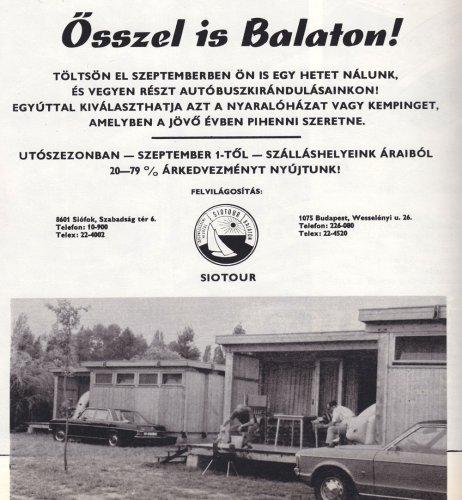 Siotour utószezon Balatonon