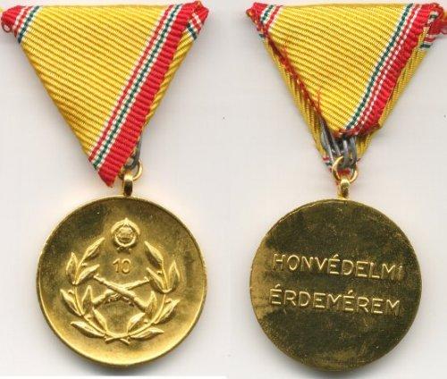 Honvédelmi Éredemérem (10 év után)