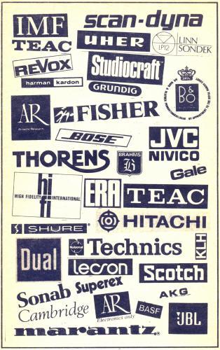 Audio márkák  emblémák