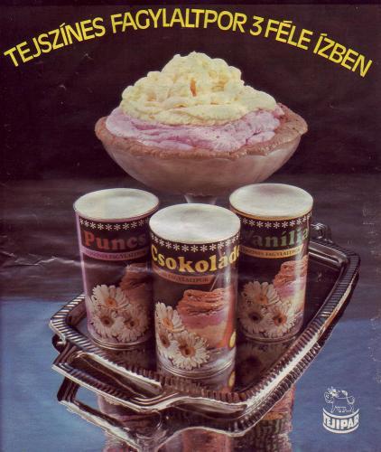 Tejszínes Fagylaltpor