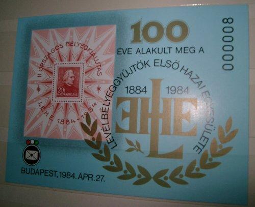 bélyegblokk