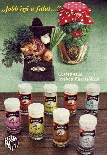 Compack ízesített fűszersó