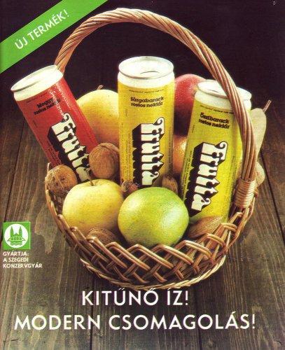 Frutta üdítő