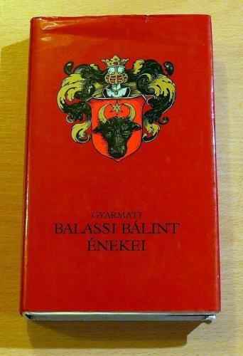 Balassi Bálint énekei