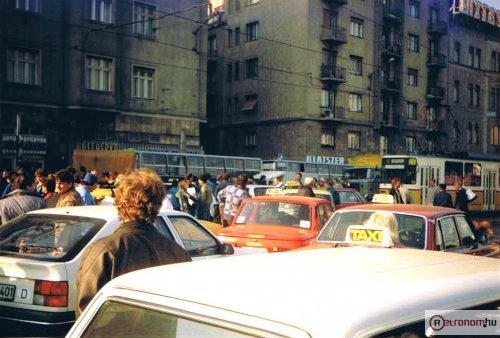 Taxisblokád a Déli Pu-nál