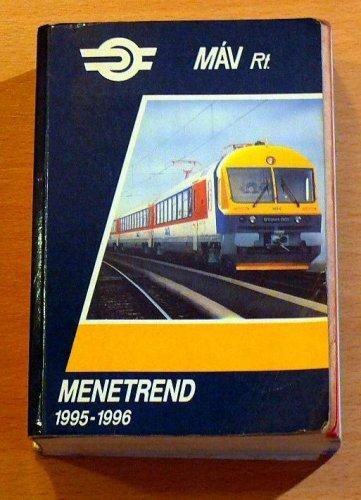 Máv menetrend 1995-96