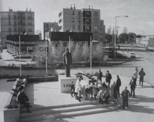 Hajdúböszörmény - Lenin szobor