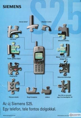 Simens mobiltelefon S25