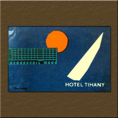 Tihany Hotel  bőröndcímke