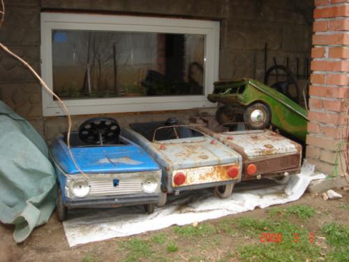 Pedálos autók