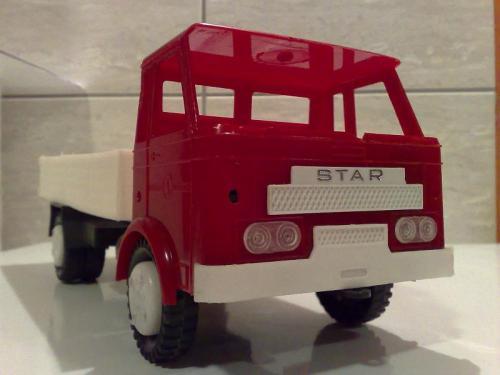 Star műanyag teherautó