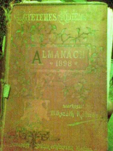 Egyetemes Regénytár. Almanach 1898