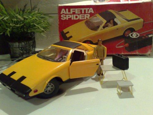 Alfa Alfetta Spider távirányítós autók.Anker Piko