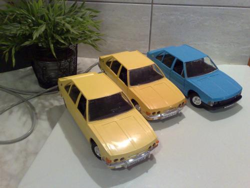Tatra 613 távirányítós autók
