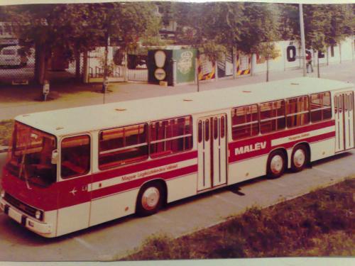 ikarus 250 reptéri autóbusz