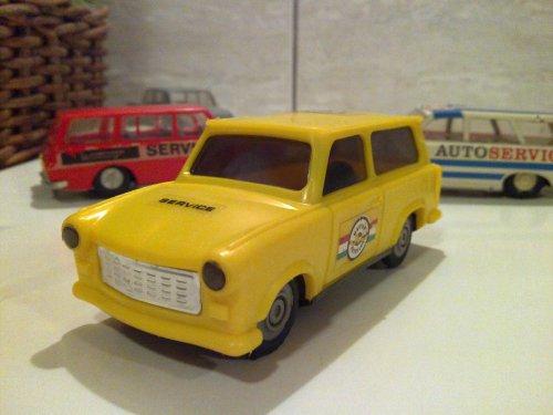 Lemezárugyári trabant 601 kombi (autóklubos)