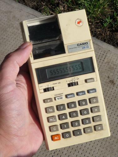 Casio számológép - HR-10