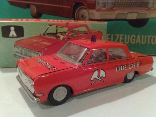 Ehri Opel Record lemezautó DDR