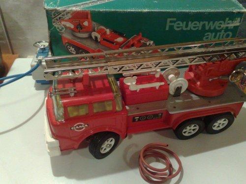 Gama távirányítós tűzoltóautó