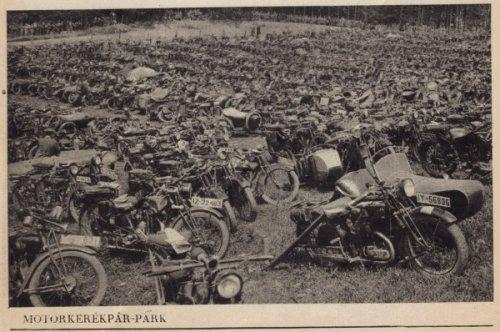Motorkerékpár park