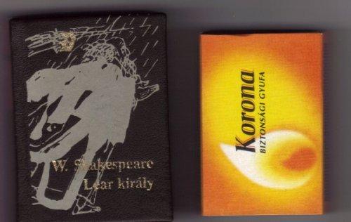 Lear király minikönyv